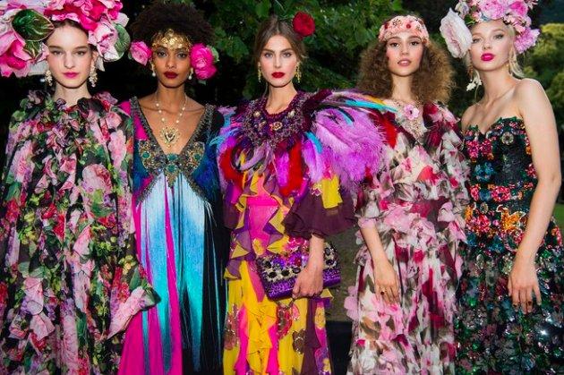 Dolce & Gabbana Alta Moda Fall 2018