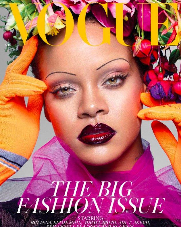 Rihanna by Nick Knight, British VOGUE, September 2018