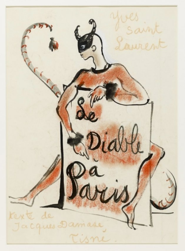 Yves Saint Laurent - The Devil in Paris