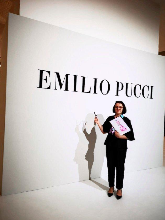 Basia Rochowczyk dla dla Emilio Pucci SS 2020