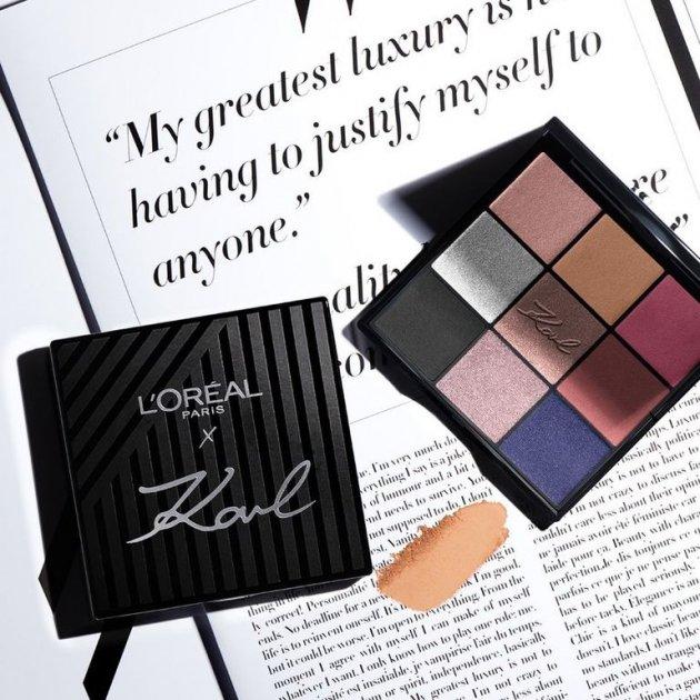 L'Oréal Paris x Karl Lagerfeld