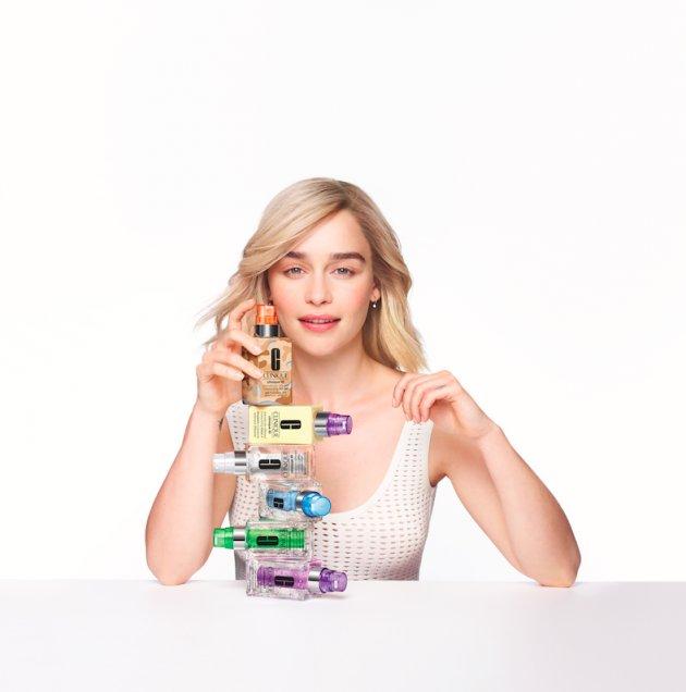 Emilia Clarke dla Clinique