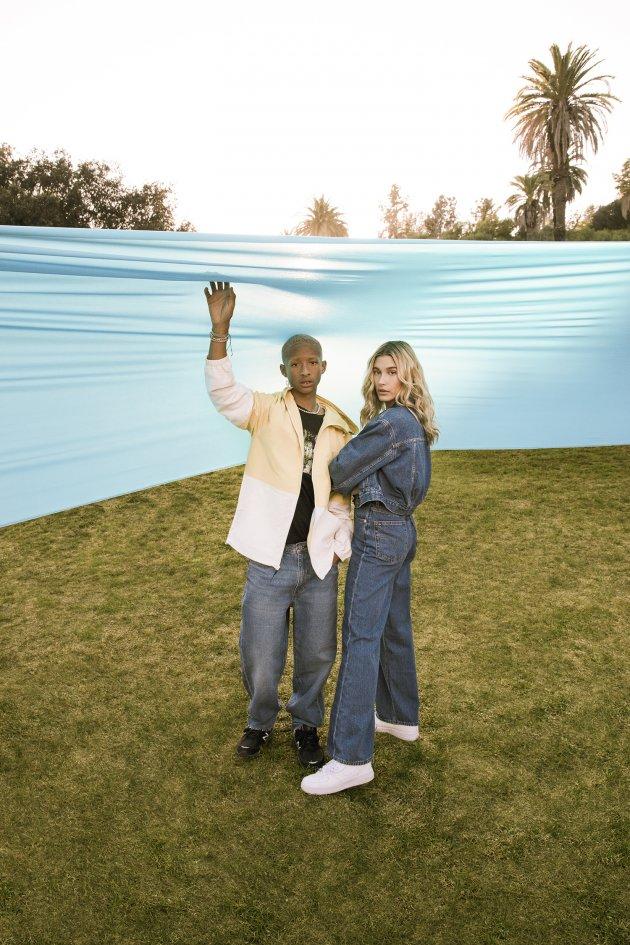Hailey Bieber & Jaden Smith dla Levi's