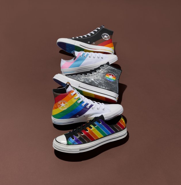 Converse More Color More Pride