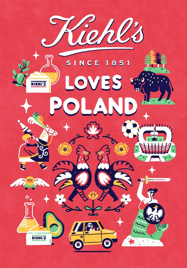 Kiehl's Loves Poland