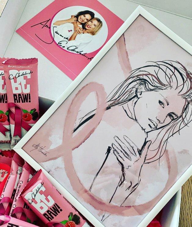 BeRAW Think Pink